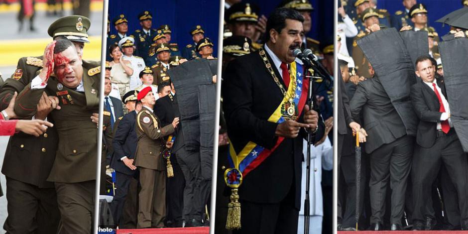 القصة الكاملة لمحاولة اغتيال رئيس فنزويلا.. هل يصنع مادورو فيلما دعائيا للانتخابات؟