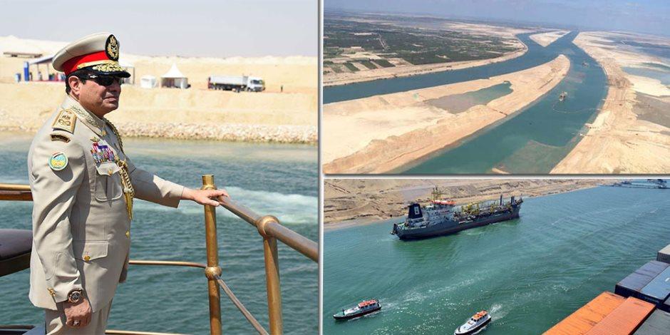 4 مرات تكلفة القناة الجديدة وتتضاعف في 2023.. قفزة لإيرادات «قناة السويس» في 3 سنوات