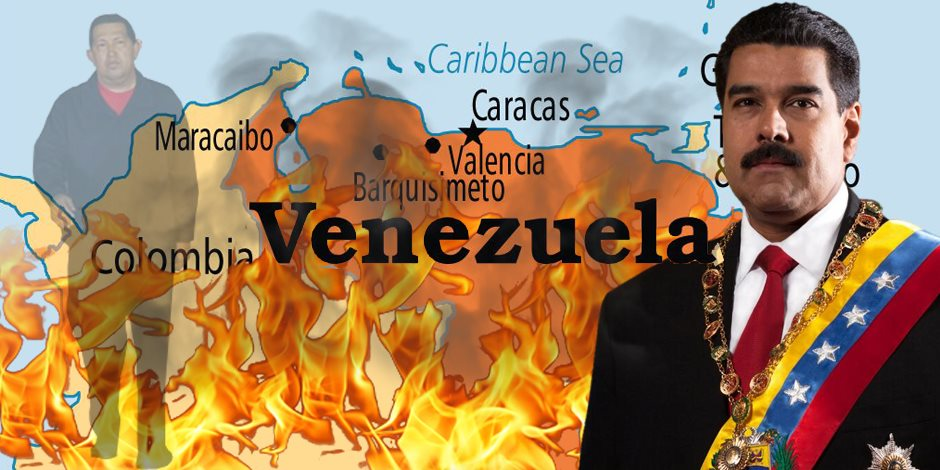 خليفة تشافيز يضع فنزويلا في مهب الريح.. هل يقضي مادورو على تركة الزعيم هوجو؟