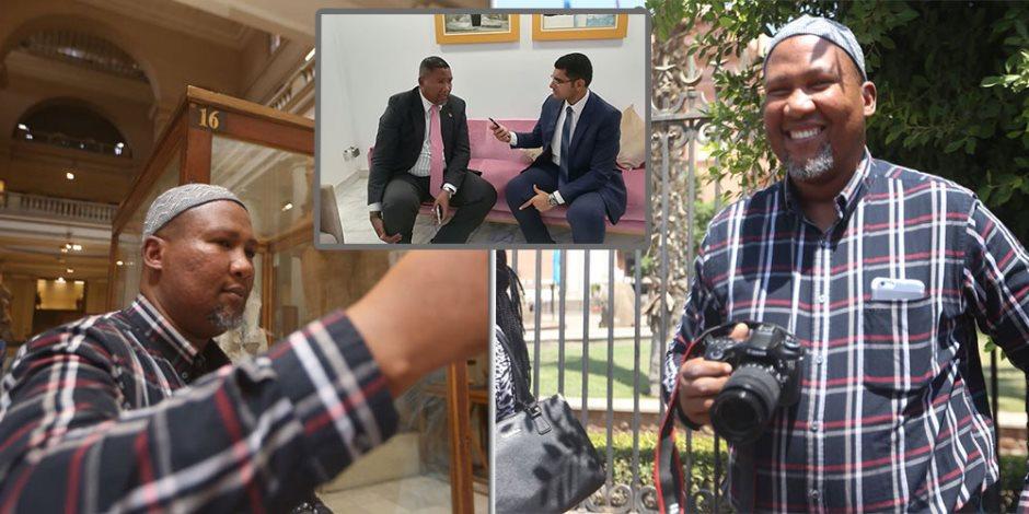 حفيد نيلسون مانديلا لـ صوت الأمة: يمكننا التعلم من مصر لتحقيق الاستقرار في إفريقيا
