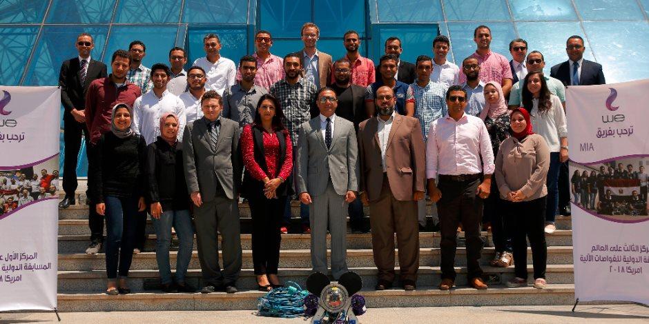 أحمد البحيري: مستمرون في دعم ورعاية المواهب العلمية الشابة وفخورون بوصول الشباب المصري للعالمية