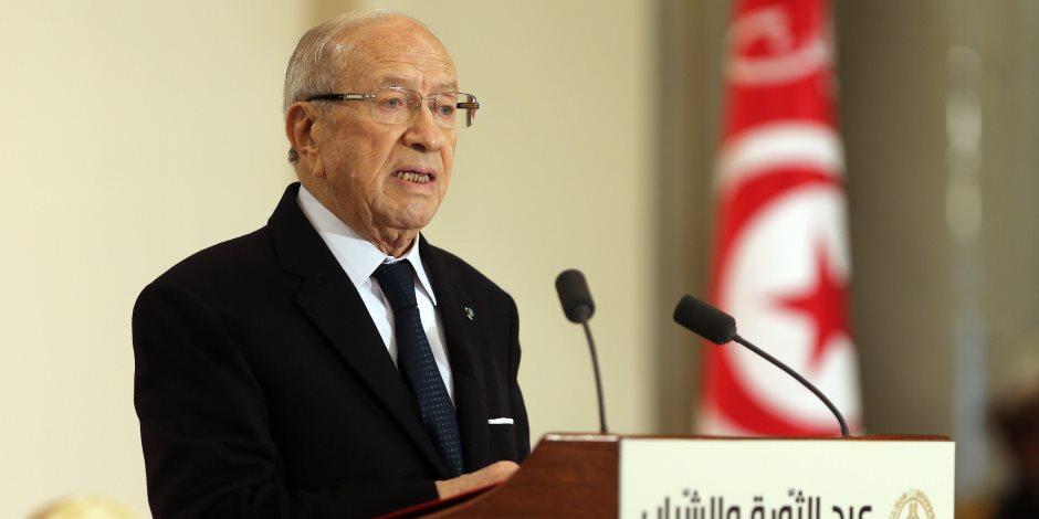 رئيس الجمهورية التونسى يعلن حالة الطوارئ لمدة شهر فى عموم البلاد