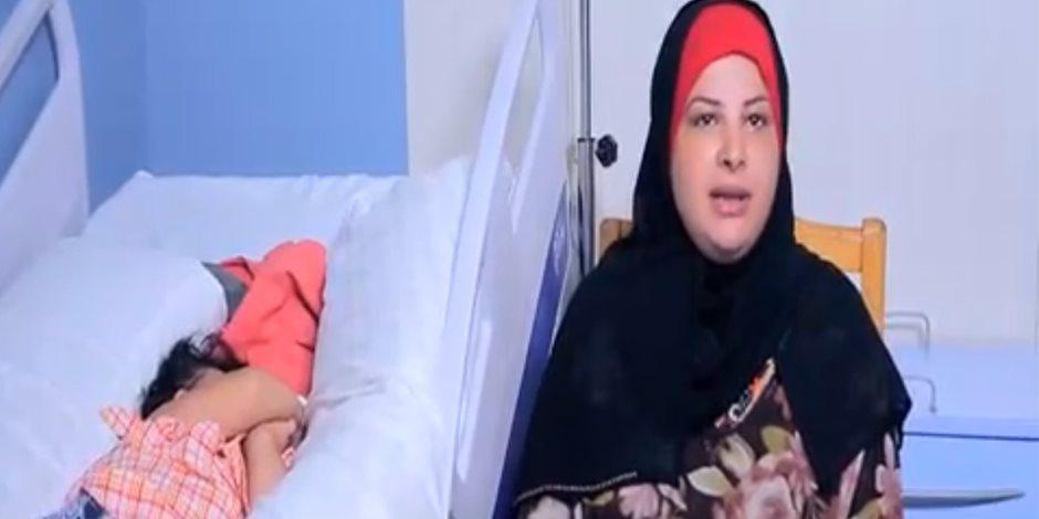 بعد توجيهات السيسي.. شاهد ماذا حدث مع الطفلة مروة في معهد ناصر؟