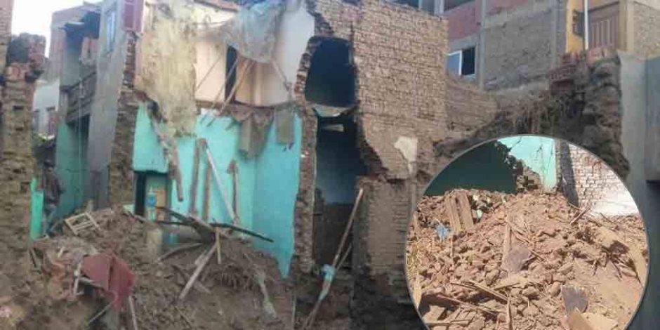 صور من الواقع.. حمى التنقيب عن الآثار تضرب قرى القليوبية وسعر المنزل غرفتين 200 ألف