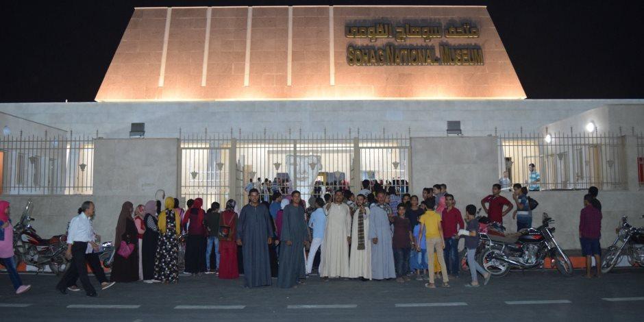 25 ألف زائر  بالمجان: متحف سوهاج كامل العدد في العيد