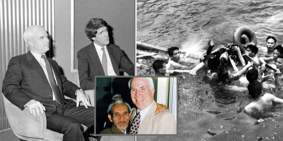 موت جون ماكين.. رحل حامل قنابل النار وجالب السلام إلى فيتنام