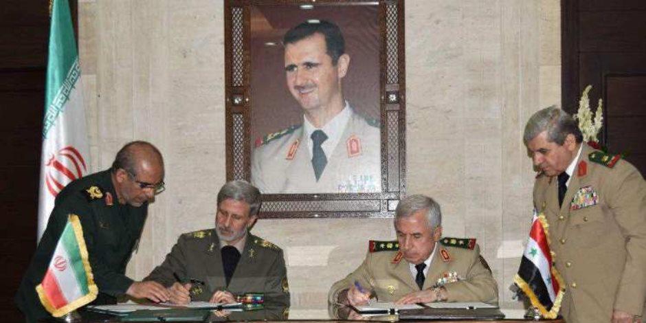 إيران تتعهد ببناء الجيش السوري.. وأمريكا وحلفائها يردون بشماعة الكيماوي