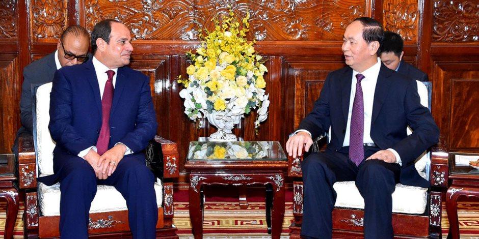 نقل خبرات التصنيع والمزارع السمكية.. تعرف على فرص التعاون التجاري بين مصر وفيتنام