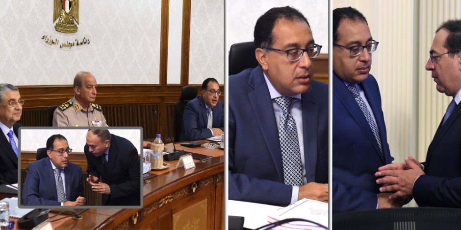 """8 قرارات حكومية هامة في اجتماع الوزراء.. واستراتيجية """"تنمية سيناء"""" تنتظر انتهاء العملية الشاملة"""