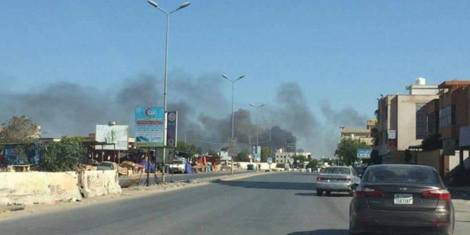اشتباكات طرابلس تحتجز الأبرياء.. «الطوارئ» الليبية تدعو لفتح ممر آمن لإجلاء العالقين