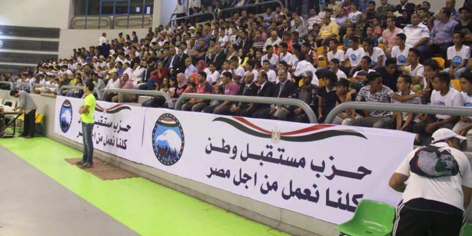 مستقبل وطن ينظم المباراة النهائية لدوري الحزب بالقاهرة (صور)