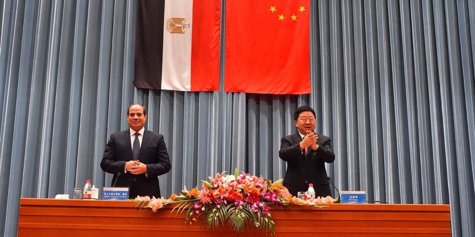 الرئيس يحمل قضايا سوريا وليبيا واليمن إلى الصين.. ماذا قال السيسي عن القضية الفلسطينية ؟