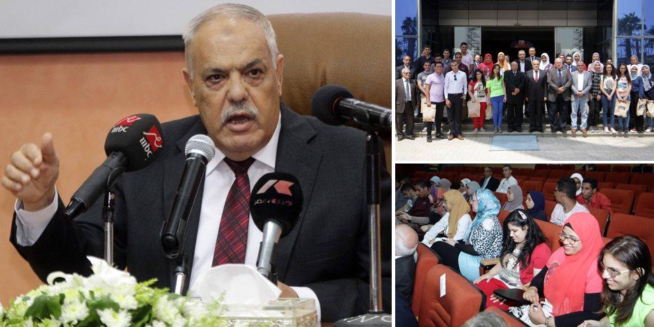 الفريق عبد المنعم التراس يحذر الطلبة من حرب الشائعات: أنتم ذخيرة الأمة