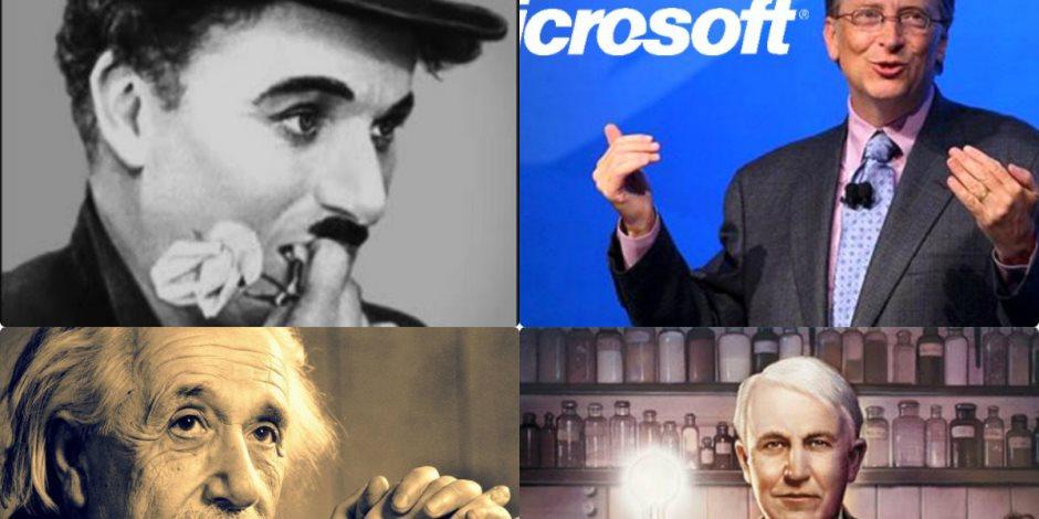 آينشتاين حاول عمه التخلص منه وأديسون طرد مرتين.. 7 عباقرة «فشلة» غيروا العالم