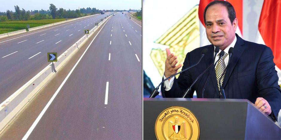 الرئيس السيسي يبعث رسائل السلام إلى العالم: لاشيء أفضل من التنمية