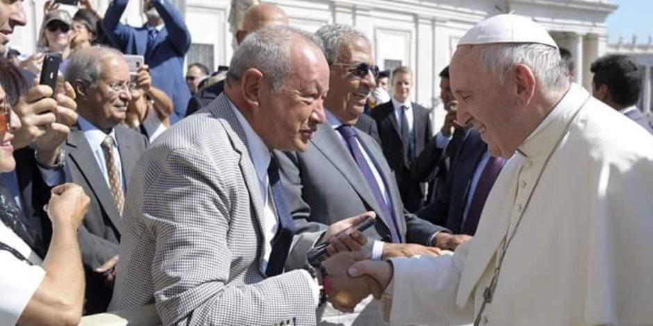 ماذا قال وفد مجلس العلاقات العربية والدولية لبابا الفاتيكان عن تهويد القدس؟