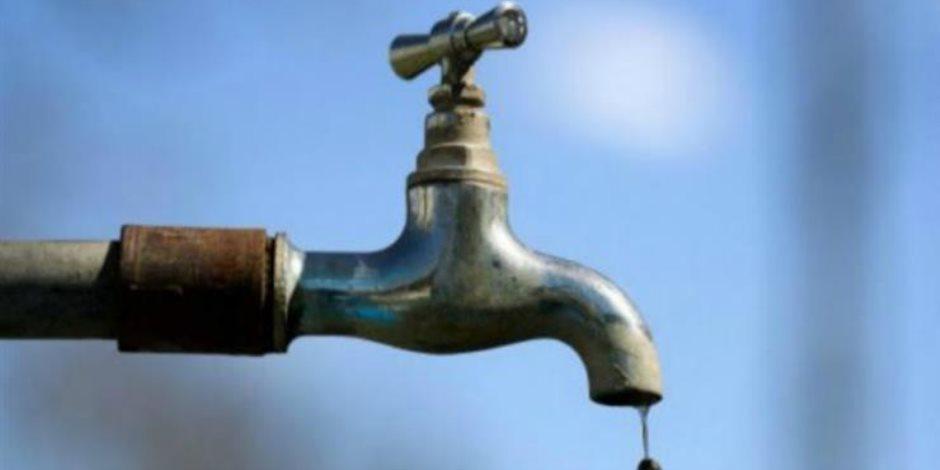 باقي من الزمن 15 ساعة.. انقطاع مياه الشرب عن 7 مناطق في الجيزة الجمعة