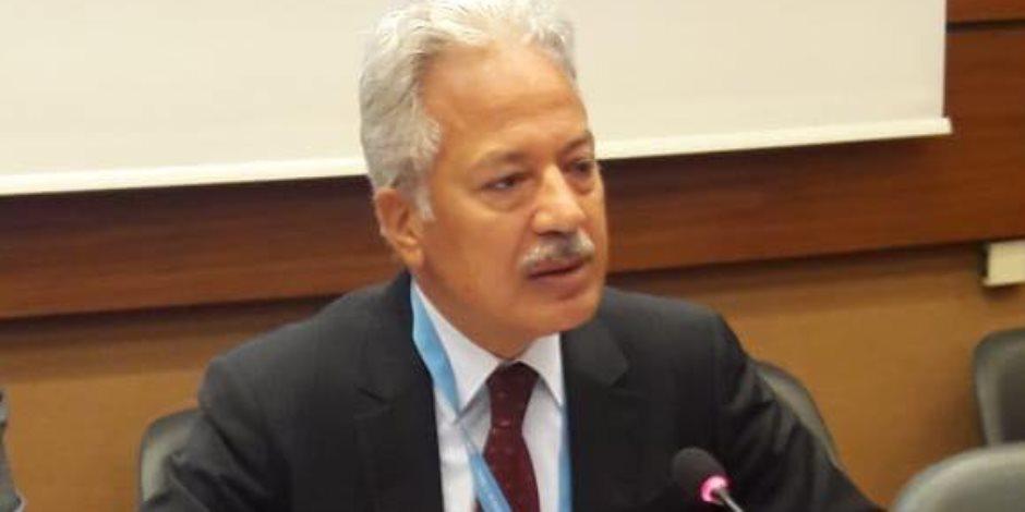 في مواجهة إرهاب قطر.. عصام شيحة من جنيف: تأييد دولي لتجفيف منابع التطرف