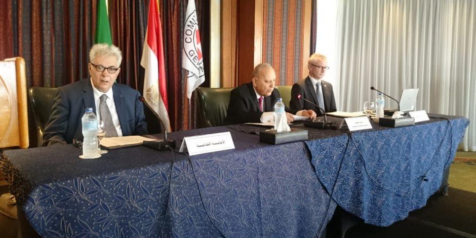 لتطبيق القانون الدولي الإنساني.. تفاصيل استضافة مصر لـ«الخبراء الحكوميين العرب» (صور)