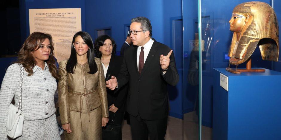 «الكنوز الذهبية للفراعنة» في موناكو.. نجاحات عدة وتفوق للقوى الناعمة المصرية