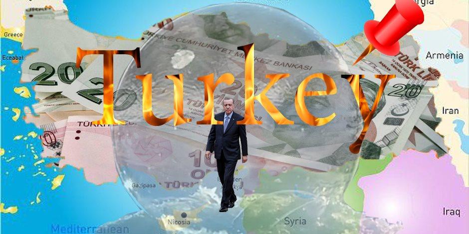 ديكتاتور في فقاعة صابون.. الازدهار الهش في تركيا يحترق في جحيم الفائدة المرتفعة