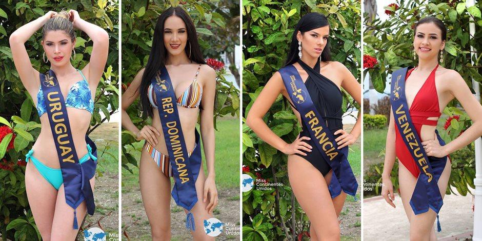 ملكات جمال القارات بين إيديك.. من الأجمل في «المايوه»؟ (صور)