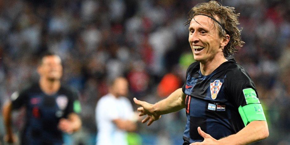 الكرة الذهبية.. مودريتش يفوز بجائزة أفضل لاعب في العالم 2018