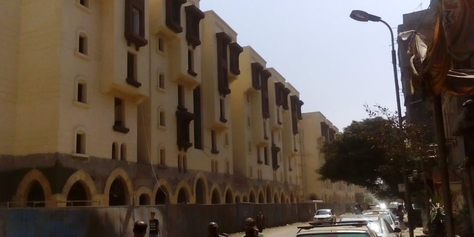مشروع «روضة السيدة» يظهر للنور بعد التشطيب.. 7 أفدنة ونصف لإنقاذ سكان العشش