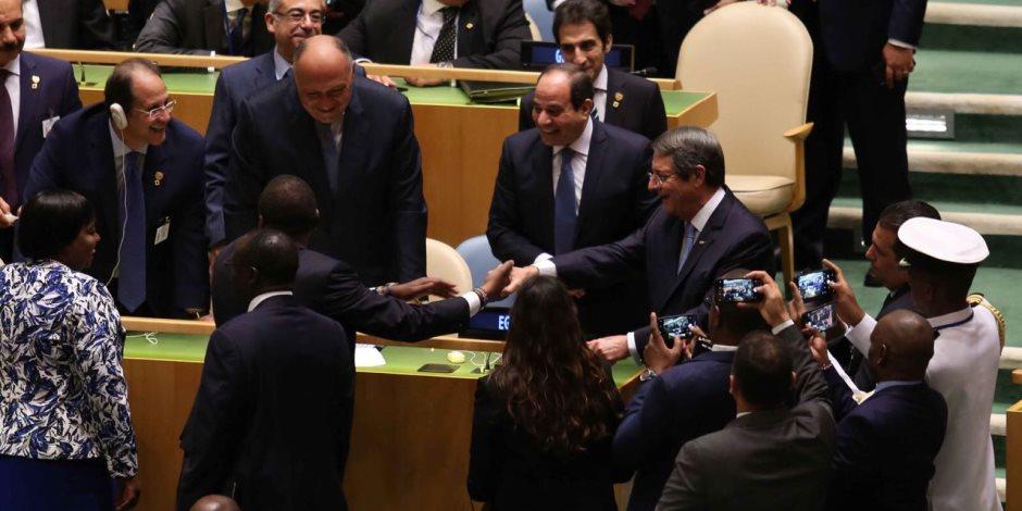 كلمة الرئيس السيسي أمام الجمعية العامة للأمم المتحدة.. بث مباشر