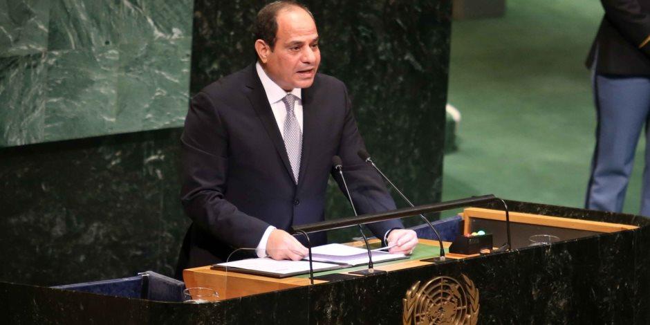 """""""النقاط فوق الحروف"""".. برلمانيون يتحدثون عن خطاب """"السيسي"""" في الأمم المتحدة"""