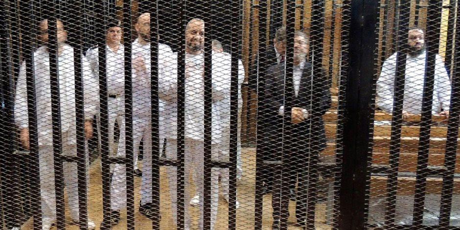 المشاهد الأخيرة من أخر جلسات محاكمة عناصر الإرهابية في «التخابر مع حماس»