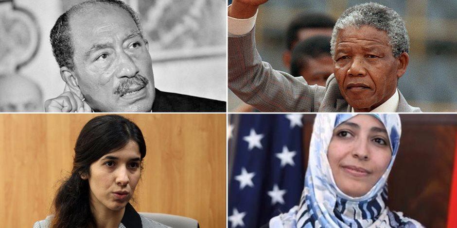 من نيلسون إلى كرمان ومراد.. قل على نوبل السلام