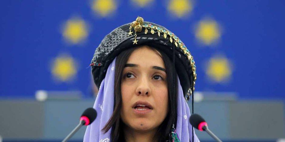 نوبل نادية مراد.. جائزة السلام تذهب لضحية القادة الذين أخفقوا في تحقيقه