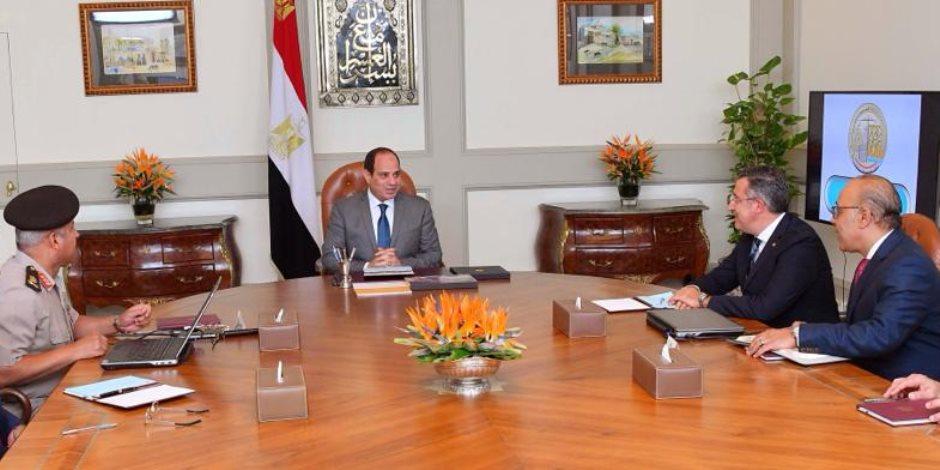المتحدث باسم الرئاسة: اتفاق علي إنشاء مدينة متكاملة للرخام بمنطقة الجلالة