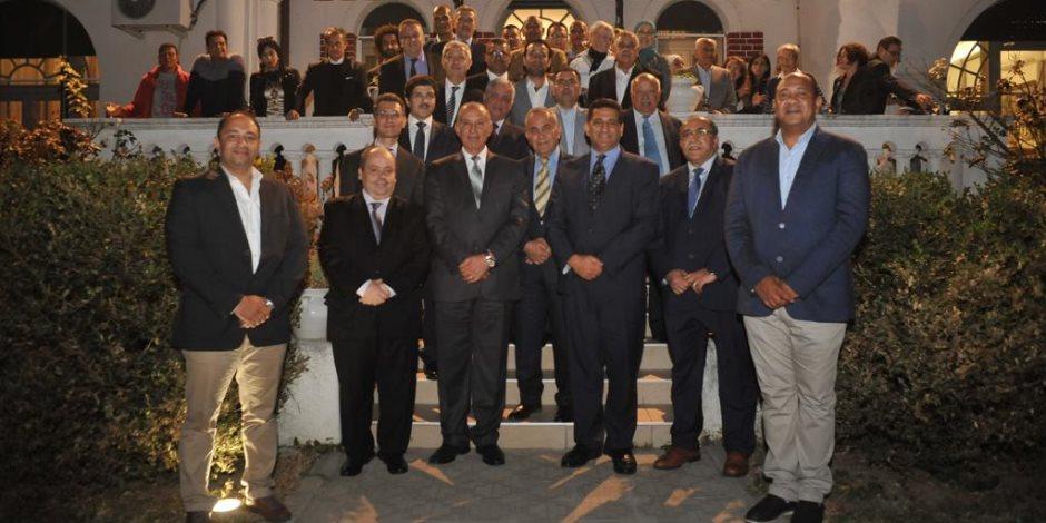 سفير مصر في بلجراد يستضيف اجتماعاً لمحافظ البحر الأحمر مع الجالية المصرية في صربيا