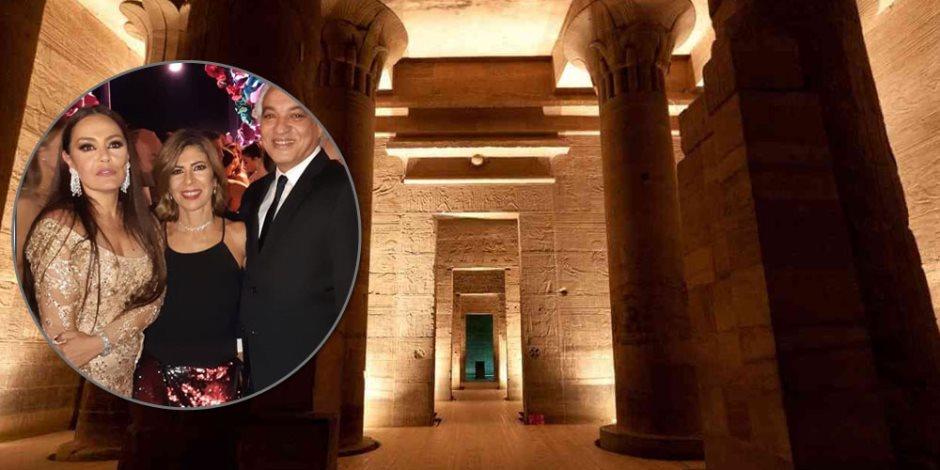 في أحضان الخضرة والآثار ونجلي الحاذق وشتا.. قصة الزفاف الأسطورة الذي انتهك معبد الأجداد