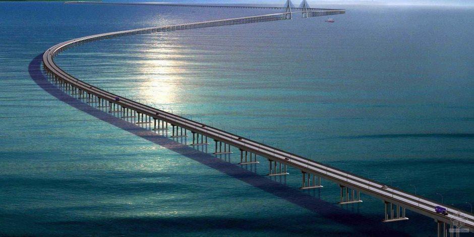 معجزة هندسية صينية.. تعرف على تفاصيل أطول جسر مائى فى العالم