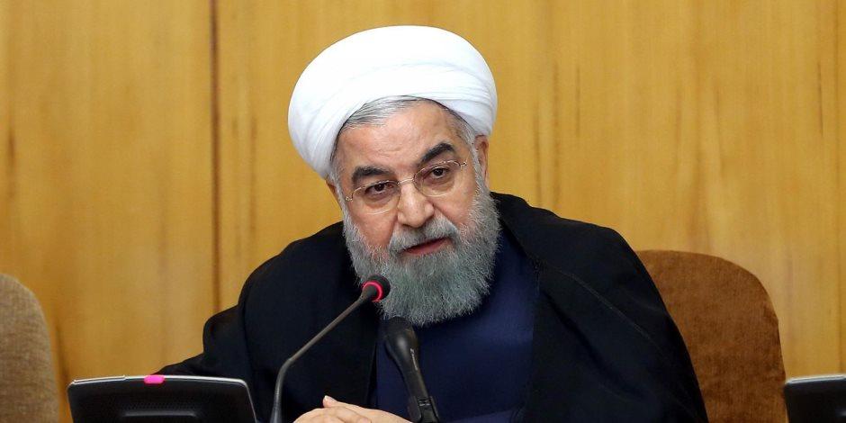 إيران تحت المقصلة.. روحاني يدين بلاده بإطلاق مجموعة تهديدات لأمريكا
