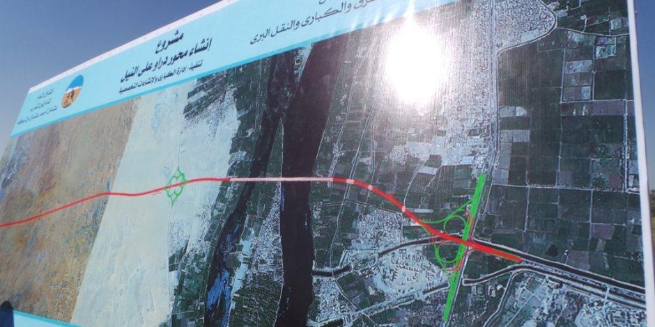 محور دارو.. كلمة السر في ربط صعيد مصر بمحافظات الوادي (صور)