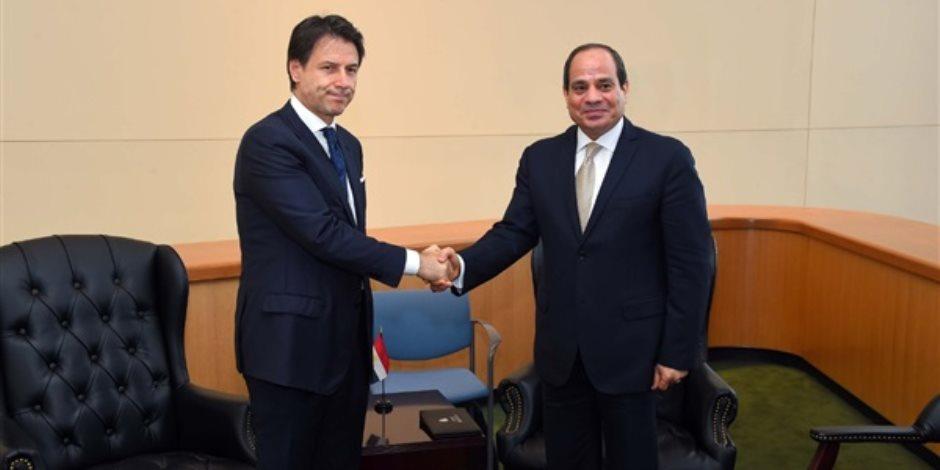 أول زيارة كانت في 2014.. تعرف على تاريخ العلاقات المصرية الإيطالية (فيديو جراف)