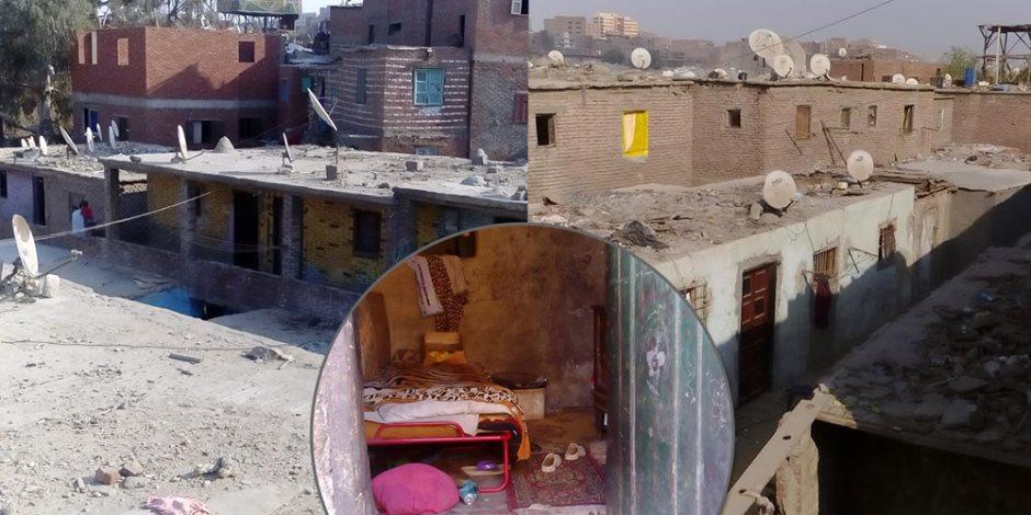 عشش وأوكار لتجارة المخدرات.. أهالي مساكن الإيواء بـ«الدويقة» في رقاب محافظة القاهرة (صور)