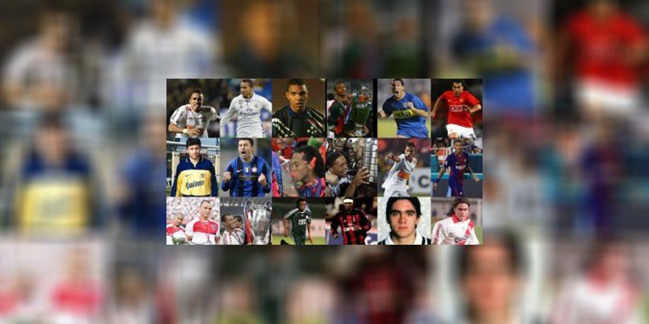 من الفوز بليبرتادوريس إلى حمل أبطال أوروبا.. نجوم صنعوا التاريخ في كرة القدم