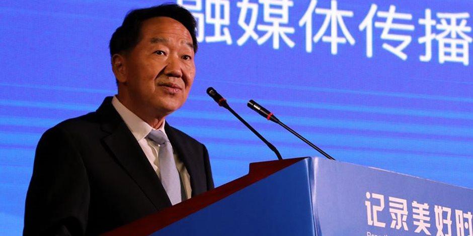 وزير الإعلام الصيني: إنجازات الرئيس السيسي أذهلتنا.. وهذا شكل التعاون الإعلامي بين البلدين