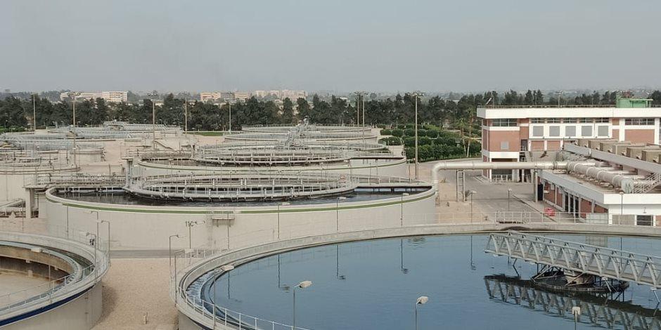 رحلة معالجة مياه الصرف الصحي.. كيف سابقت الحكومة الزمن في مشروع محطة الجبل الأصفر (صور)