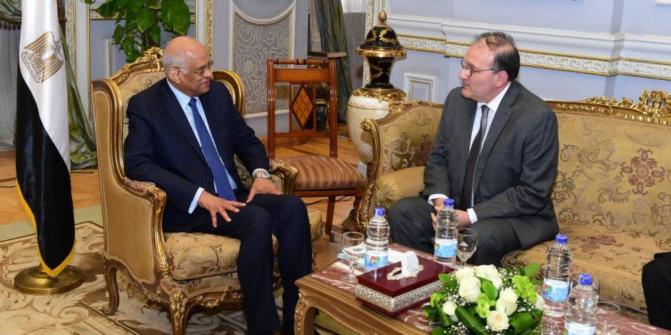 «التجربة اليابانية» تحت قبة البرلمان.. تفاصيل لقاء «عبد العال» مع سفيري اليابان وأرمينيا