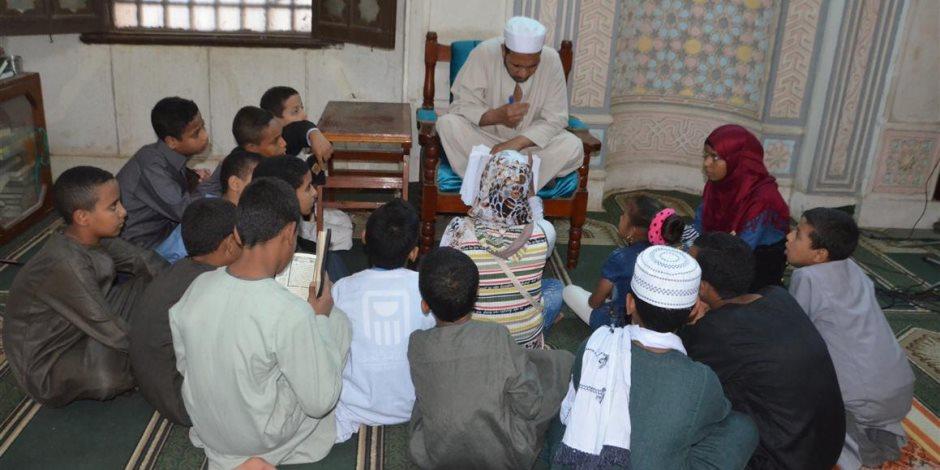 لتعليم الأطفال القرآن والأحاديث.. المدارس القرآنية تصل الأقصر (صور)