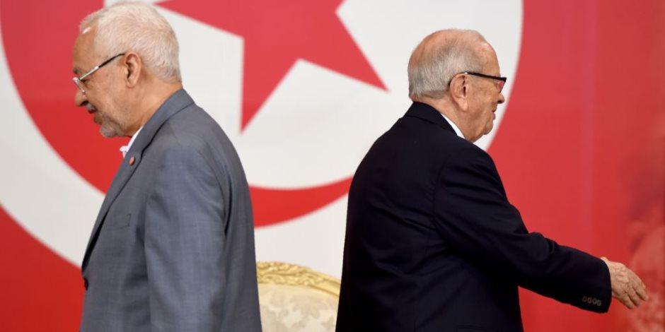 ملف التنظيم السري لحركة النهضة أمام الرئيس التونسي.. هل انتهى شهر عسل إخوان تونس؟