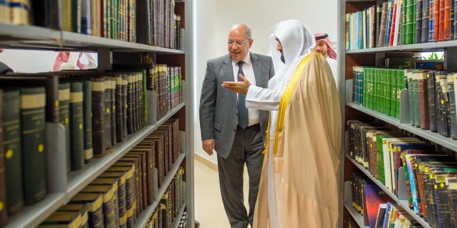 تفاصيل زيارة رئيس مجلس الدولة المصري للمملكة العربية السعودية (صور)