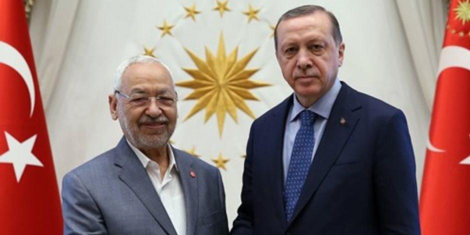 الغنوشي يحكم تركيا.. هكذا تسيطر أفكار قصة زعيم «لنهضة التونسي» على أردوغان