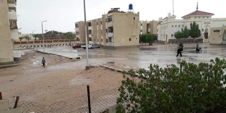 العواصف تضرب شمال سيناء.. والمحافظ يرفع حالة الطوارئ (صور)